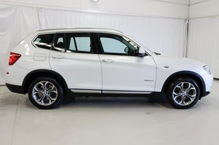 2015 BMW X3 F25 LCI xDrive20d Steptronic White 8 Speed Automatic Wagon.