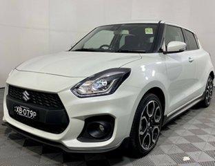 2021 Suzuki Swift AZ Series II Sport Pure White 6 Speed Sports Automatic Hatchback