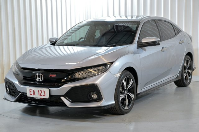 Used Honda Civic MY17 RS Hendra, 2017 Honda Civic MY17 RS Silver Continuous Variable Hatchback