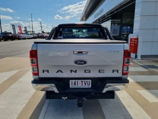 2013 Ford Ranger PX XLT 3.2 (4x4) Silver 6 Speed Automatic Double Cab Pick Up.