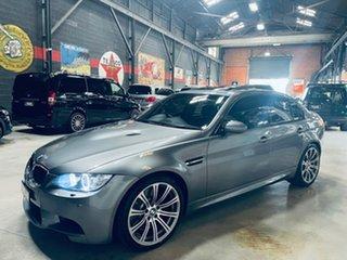 2009 BMW M3 E90 MY10 M-DCT Grey 7 Speed Sports Automatic Dual Clutch Sedan