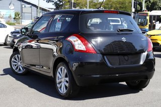 2016 Suzuki Swift FZ MY15 GL Navigator Black 5 Speed Manual Hatchback