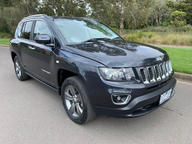 Used Jeep Compass MK North Geelong, 2014 Jeep Compass MK North Blue Sports Automatic Wagon