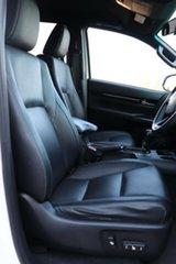 2018 Toyota Hilux GUN126R Rogue Double Cab Glacier White 6 Speed Sports Automatic Utility