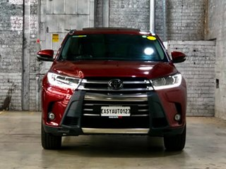 2017 Toyota Kluger GSU55R Grande AWD Red 8 Speed Sports Automatic Wagon.