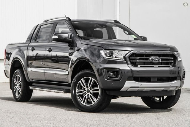 New Ford Ranger PX MkIII 2021.75MY Wildtrak Oakleigh, 2021 Ford Ranger PX MkIII 2021.75MY Wildtrak Grey 10 Speed Sports Automatic Double Cab Pick Up
