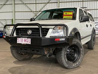 2003 Holden Rodeo RA LT Crew Cab White 5 Speed Manual Utility.