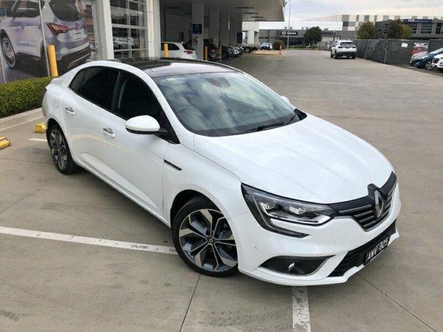 Used Renault Megane LFF Intens EDC Melton, 2018 Renault Megane LFF Intens EDC White 7 Speed Sports Automatic Dual Clutch Sedan