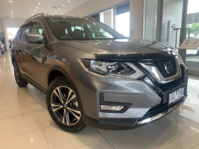 Demo Nissan X-Trail T32 MY21 ST-L X-tronic 2WD Essendon Fields, 2021 Nissan X-Trail T32 MY21 ST-L X-tronic 2WD Gun Metallic 7 Speed Constant Variable Wagon