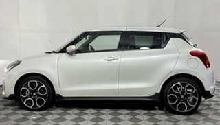 2021 Suzuki Swift AZ Series II Sport Pure White 6 Speed Sports Automatic Hatchback.