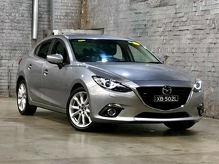 2014 Mazda 3 BM5438 SP25 SKYACTIV-Drive GT Grey 6 Speed Sports Automatic Hatchback.