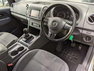 2013 Volkswagen Amarok 2H MY13 TDI400 4Mot Highline Silver 6 Speed Manual Utility