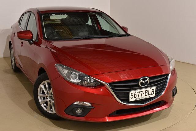 Used Mazda 3 BM5276 Maxx SKYACTIV-MT Nailsworth, 2014 Mazda 3 BM5276 Maxx SKYACTIV-MT Red 6 Speed Manual Sedan