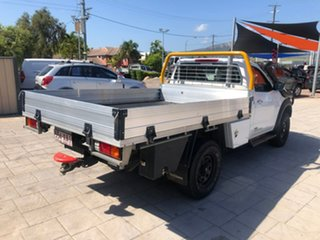 2016 Nissan Navara D23 RX White 6 Speed Manual Cab Chassis
