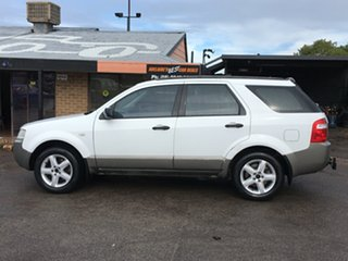 2005 Ford Territory SX TS White 4 Speed Sports Automatic Wagon