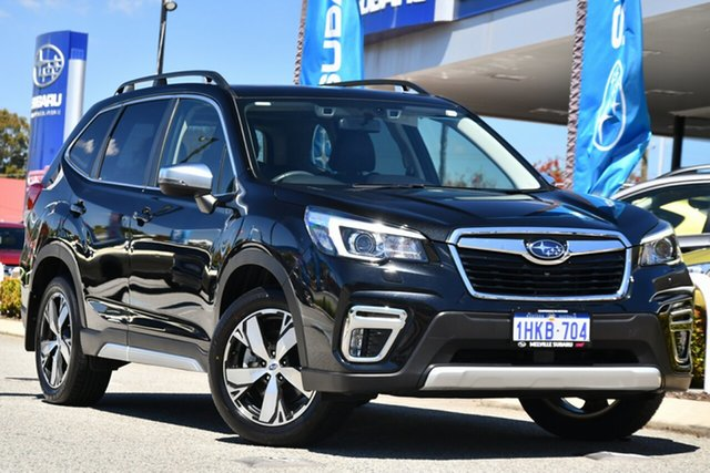 Used Subaru Forester S5 MY19 2.5i-S CVT AWD Melville, 2019 Subaru Forester S5 MY19 2.5i-S CVT AWD Black 7 Speed Constant Variable Wagon