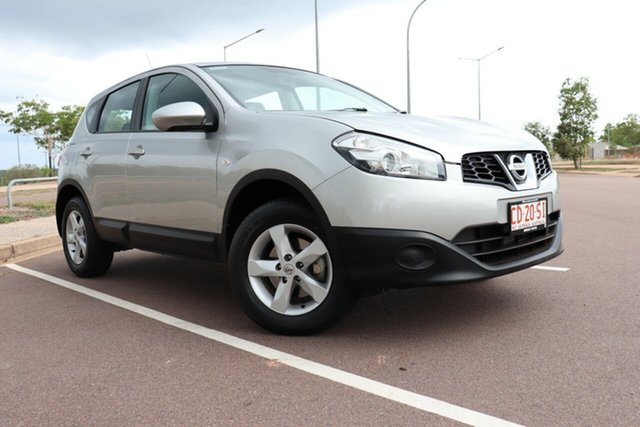 Pre-Owned Nissan Dualis J10W Series 3 MY12 ST Hatch X-tronic 2WD Palmerston, 2012 Nissan Dualis J10W Series 3 MY12 ST Hatch X-tronic 2WD Silver 6 Speed CVT Auto Sequential Wagon