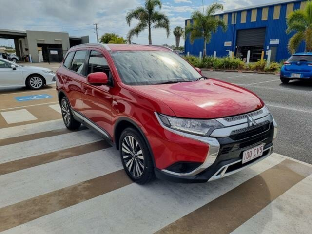 Pre-Owned Mitsubishi Outlander ZL MY19 ES 7 Seat (AWD) Gladstone, 2019 Mitsubishi Outlander ZL MY19 ES 7 Seat (AWD) Red Continuous Variable Wagon
