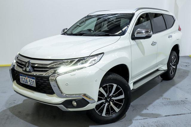 Used Mitsubishi Pajero Sport QE MY19 Exceed Canning Vale, 2018 Mitsubishi Pajero Sport QE MY19 Exceed White 8 Speed Sports Automatic Wagon