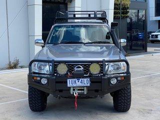 2008 Nissan Patrol GU 6 MY08 ST-L Silver 5 Speed Sports Automatic Wagon.