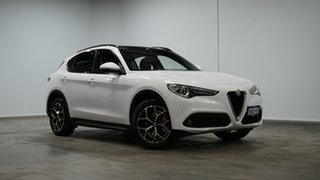 2017 Alfa Romeo Stelvio First Edition AWD White 8 Speed Sports Automatic Wagon.