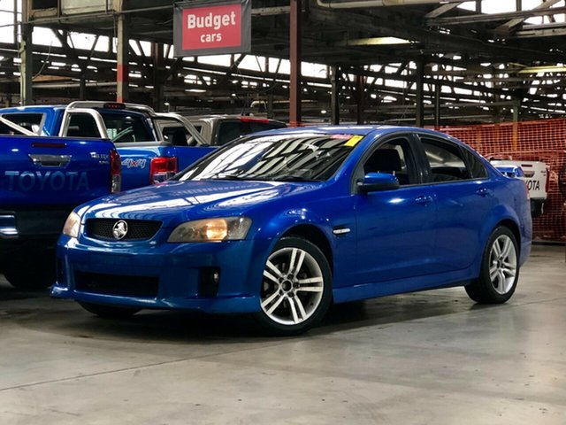 Used Holden Commodore VE SV6 Mile End South, 2008 Holden Commodore VE SV6 Blue 5 Speed Sports Automatic Sedan
