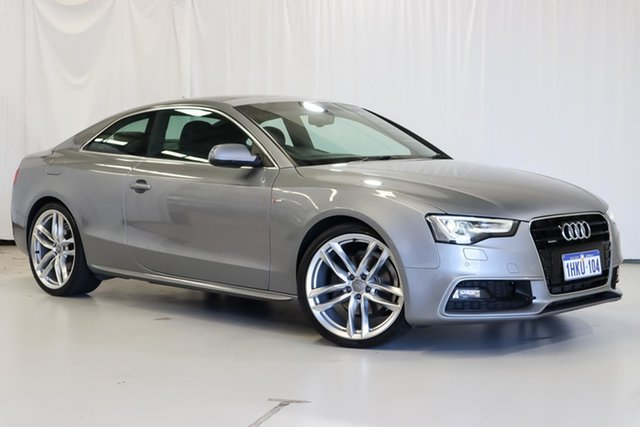 Used Audi A5 8T MY16 S Line Plus S Tronic Quattro Wangara, 2016 Audi A5 8T MY16 S Line Plus S Tronic Quattro Silver 7 Speed Sports Automatic Dual Clutch Coupe