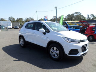 2017 Holden Trax LS Turbo White Automatic Wagon.