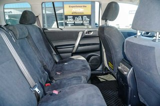 2012 Toyota Kluger GSU40R MY12 KX-R 2WD White 5 Speed Sports Automatic Wagon