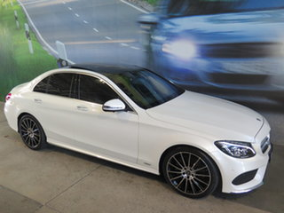 2017 Mercedes-Benz C300 205 MY17.5 White 9 Speed Automatic G-Tronic Sedan.