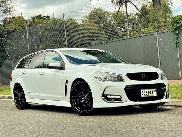 Used Holden Commodore VF II MY16 SS Sportwagon Hyde Park, 2015 Holden Commodore VF II MY16 SS Sportwagon White 6 Speed Sports Automatic Wagon