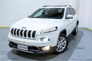 2016 Jeep Cherokee KL MY16 Limited White 9 Speed Sports Automatic Wagon.