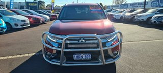 2016 Mitsubishi Outlander ZK MY16 LS 2WD Red 6 Speed Constant Variable Wagon.
