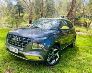 2020 Hyundai Venue QX MY20 Elite Grey 6 Speed Automatic Wagon.