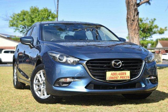 Used Mazda 3 BN5278 Maxx SKYACTIV-Drive Sport Cheltenham, 2018 Mazda 3 BN5278 Maxx SKYACTIV-Drive Sport Blue 6 Speed Sports Automatic Sedan