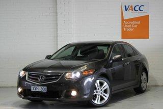 2010 Honda Accord Euro CU MY10 Luxury Grey 5 Speed Automatic Sedan.