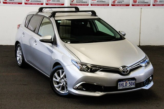 Pre-Owned Toyota Corolla ZRE182R MY17 Ascent Sport Rockingham, 2017 Toyota Corolla ZRE182R MY17 Ascent Sport Silver Pearl 7 Speed CVT Auto Sequential Hatchback