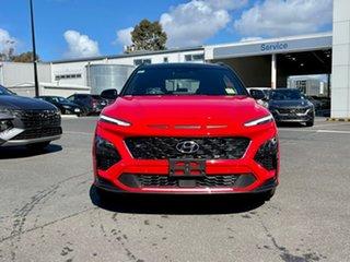 2021 Hyundai Kona Os.v4 MY21 N-Line D-CT AWD Mfr 7 Speed Sports Automatic Dual Clutch Wagon.