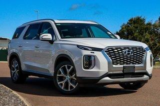 2021 Hyundai Palisade LX2.V2 MY22 Elite 2WD White Cream 8 Speed Sports Automatic Wagon.