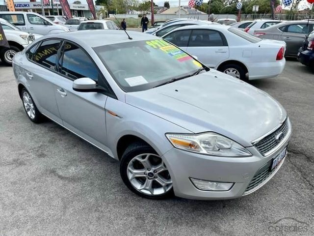Used Ford Mondeo MA TDCi Arundel, 2008 Ford Mondeo MA TDCi Silver 6 Speed Automatic Sedan