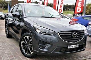 2015 Mazda CX-5 KE1022 Akera SKYACTIV-Drive AWD Grey 6 Speed Sports Automatic Wagon.