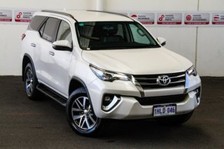 2018 Toyota Fortuner GUN156R MY19 Crusade Crystal Pearl 6 Speed Automatic Wagon.