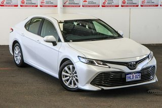 2020 Toyota Camry ASV70R Ascent Frosted White 6 Speed Sports Automatic Sedan.