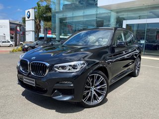 2020 BMW X3 G01 xDrive30d M Sport Black Sapphire 8 Speed Auto Steptronic Sport Wagon.