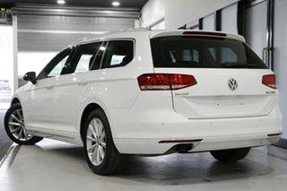 2017 Volkswagen Passat 3C MY17 132 TSI Comfortline White 7 Speed Auto Direct Shift Wagon.