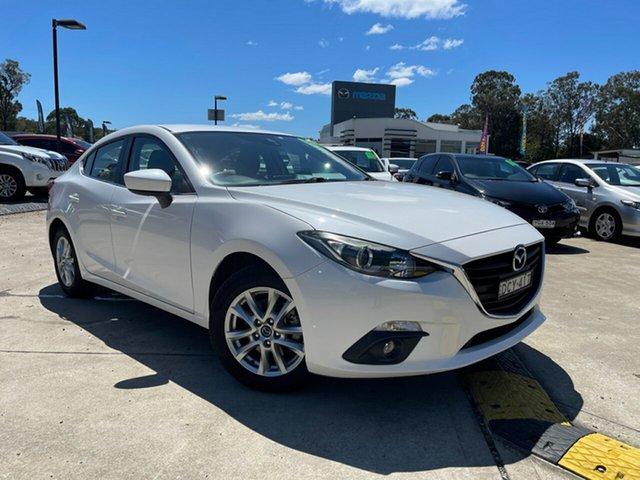 Used Mazda 3 BM5278 Maxx SKYACTIV-Drive Glendale, 2015 Mazda 3 BM5278 Maxx SKYACTIV-Drive White 6 Speed Sports Automatic Sedan