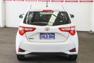 2018 Toyota Yaris NCP130R MY18 Ascent Glacier White 4 Speed Automatic Hatchback