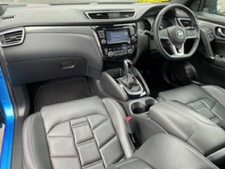 2018 Nissan Qashqai J11 MY18 TI Blue Continuous Variable Wagon.