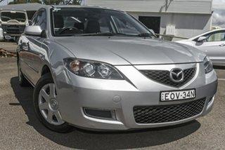 2007 Mazda 3 BK10F2 Neo Silver 4 Speed Sports Automatic Sedan.
