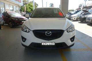 2014 Mazda CX-5 KE1031 MY14 Maxx SKYACTIV-Drive AWD Sport White 6 Speed Sports Automatic Wagon.